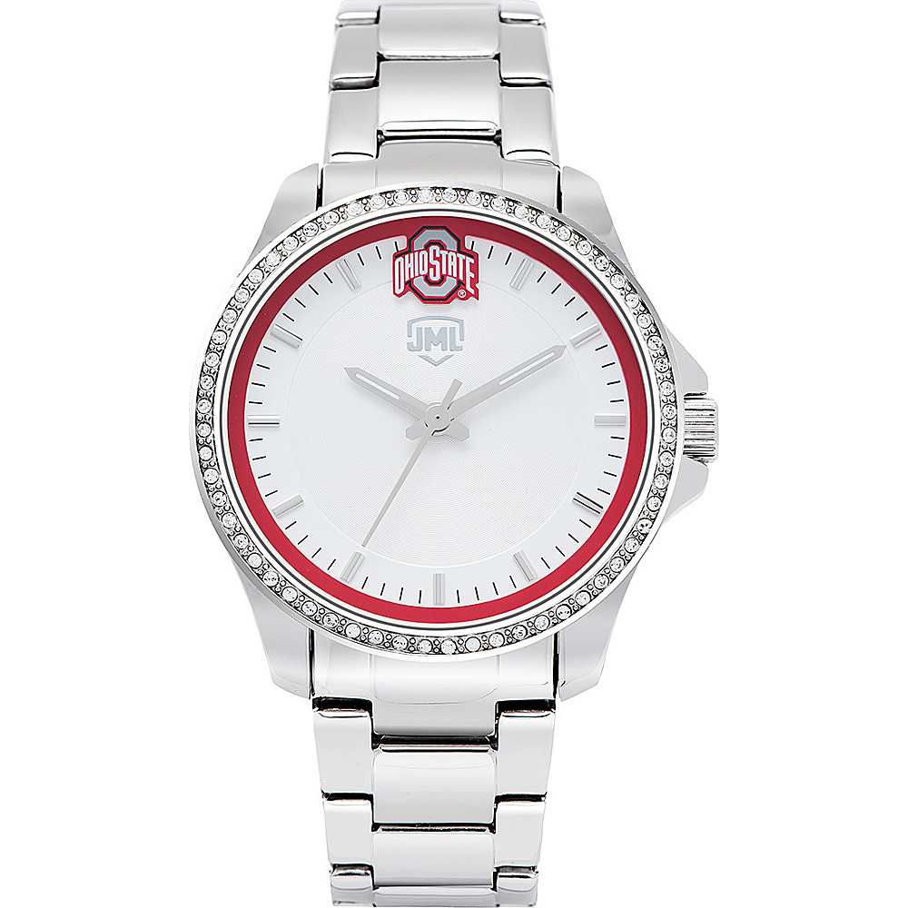 Jack Mason League Womens NCAA Glitz Sport Watch Ohio State - Jack Mason League Watches - Fashion Accessories, Watches