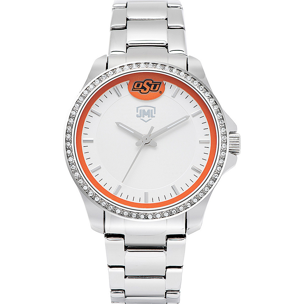 Jack Mason League Womens NCAA Glitz Sport Watch Oklahoma State - Jack Mason League Watches - Fashion Accessories, Watches