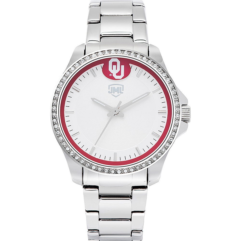 Jack Mason League Womens NCAA Glitz Sport Watch Oklahoma - Jack Mason League Watches - Fashion Accessories, Watches