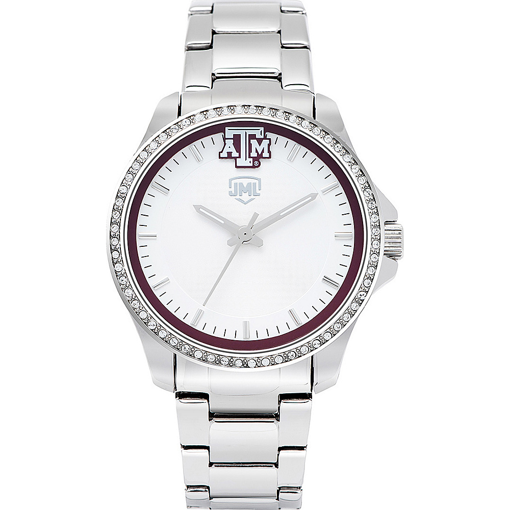 Jack Mason League Womens NCAA Glitz Sport Watch Texas A&M - Jack Mason League Watches - Fashion Accessories, Watches