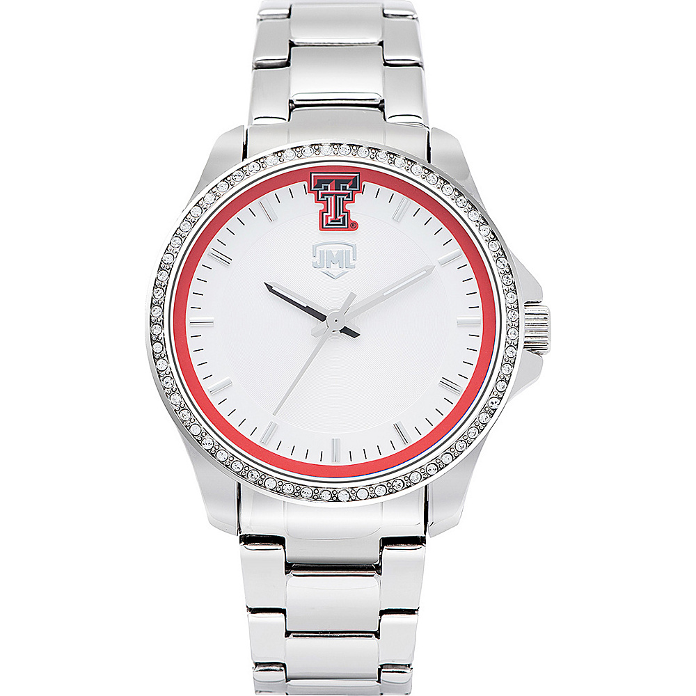 Jack Mason League Womens NCAA Glitz Sport Watch Texas Tech - Jack Mason League Watches - Fashion Accessories, Watches