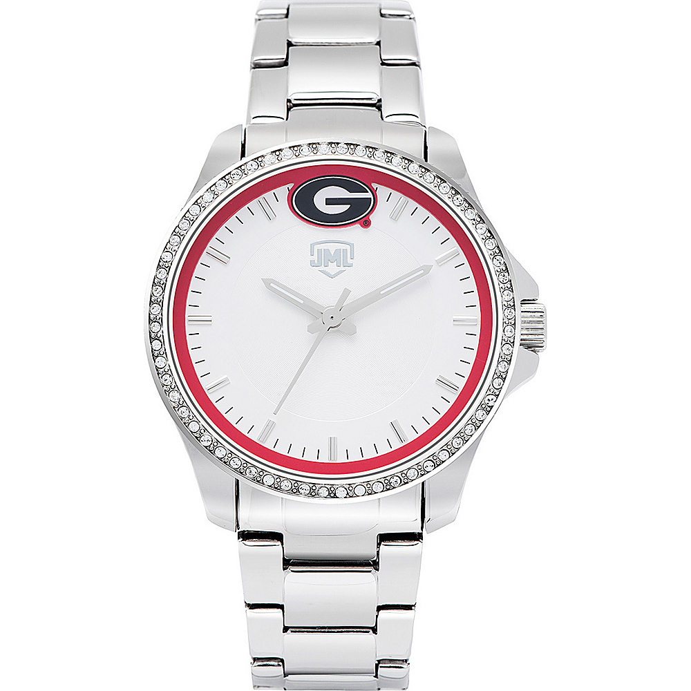 Jack Mason League Womens NCAA Glitz Sport Watch Georgia - Jack Mason League Watches - Fashion Accessories, Watches