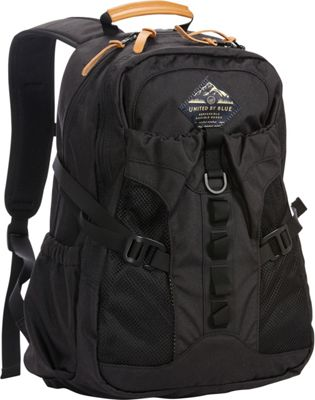 United by Blue 22L Tyest Hiking Laptop Pack Black - United by Blue School & Day Hiking Backpacks