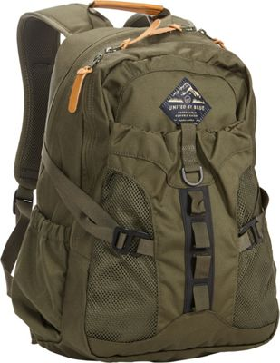 United by Blue 22L Tyest Hiking Laptop Pack Olive - United by Blue School & Day Hiking Backpacks