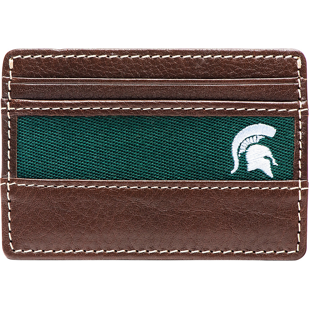 Jack Mason League NCAA Alumni ID Card Case Michigan State - Jack Mason League Mens Wallets - Work Bags & Briefcases, Men's Wallets