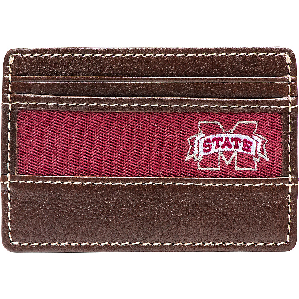 Jack Mason League NCAA Alumni ID Card Case Mississippi State - Jack Mason League Mens Wallets - Work Bags & Briefcases, Men's Wallets