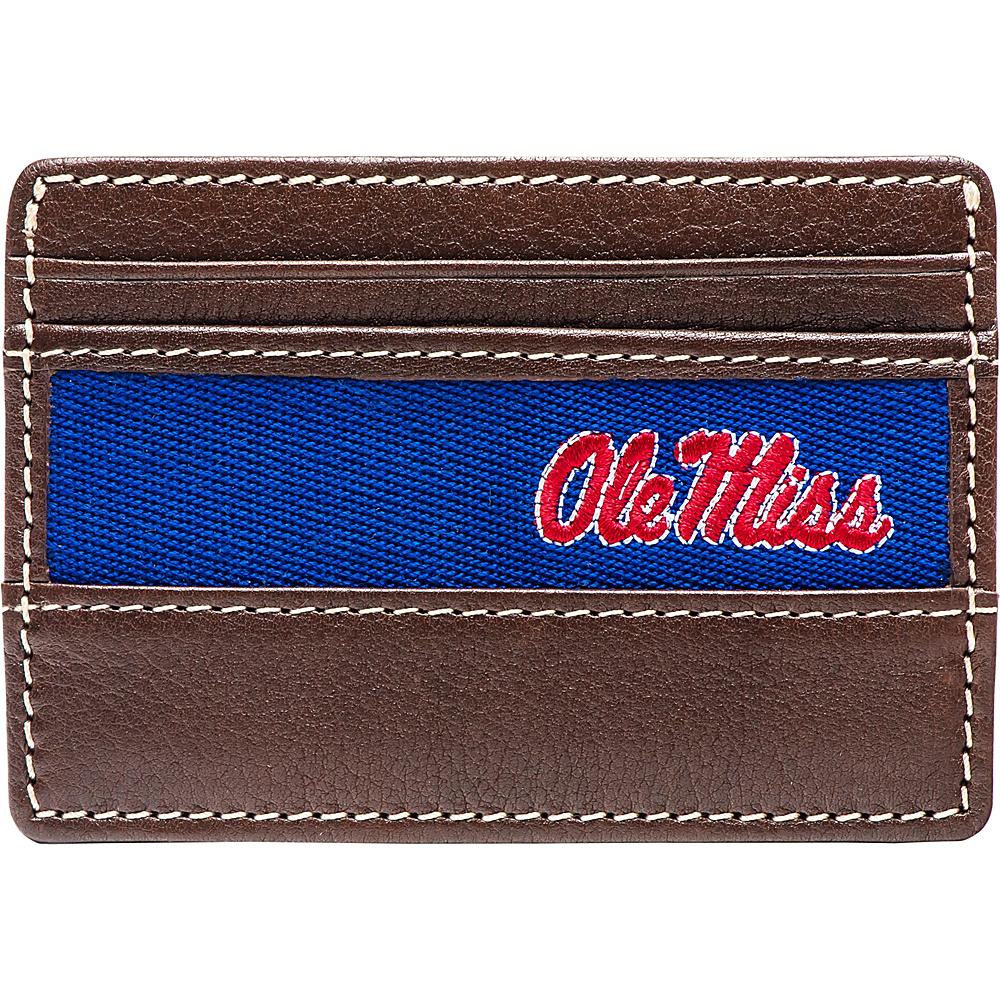 Jack Mason League NCAA Alumni ID Card Case Ole Miss - Jack Mason League Mens Wallets - Work Bags & Briefcases, Men's Wallets