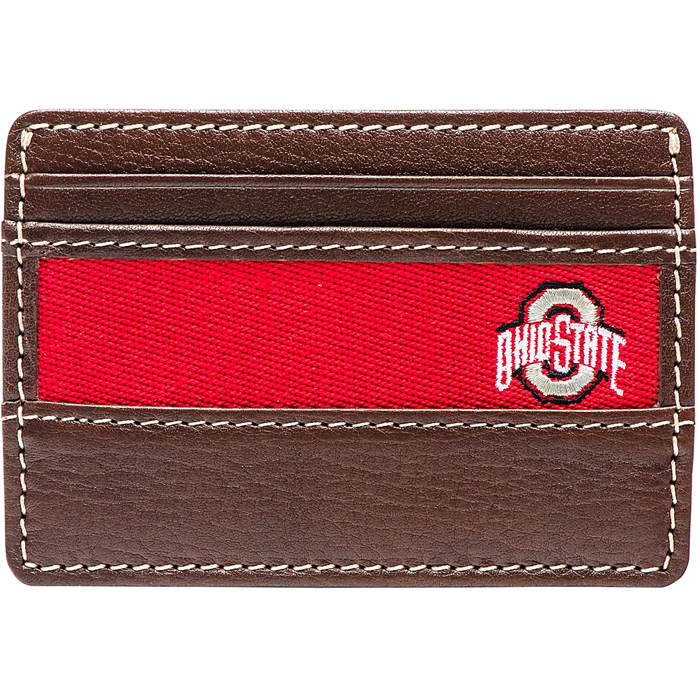 Jack Mason League NCAA Alumni ID Card Case Ohio State - Jack Mason League Mens Wallets - Work Bags & Briefcases, Men's Wallets