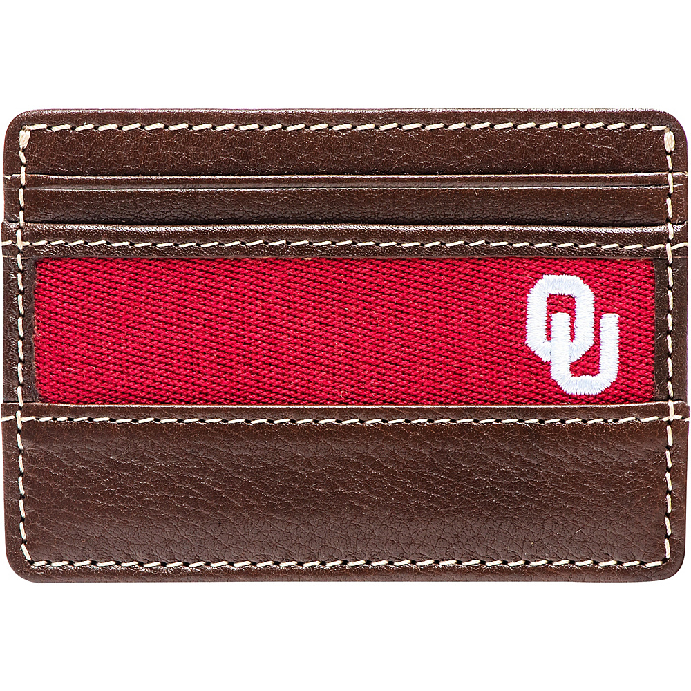 Jack Mason League NCAA Alumni ID Card Case Oklahoma - Jack Mason League Mens Wallets - Work Bags & Briefcases, Men's Wallets