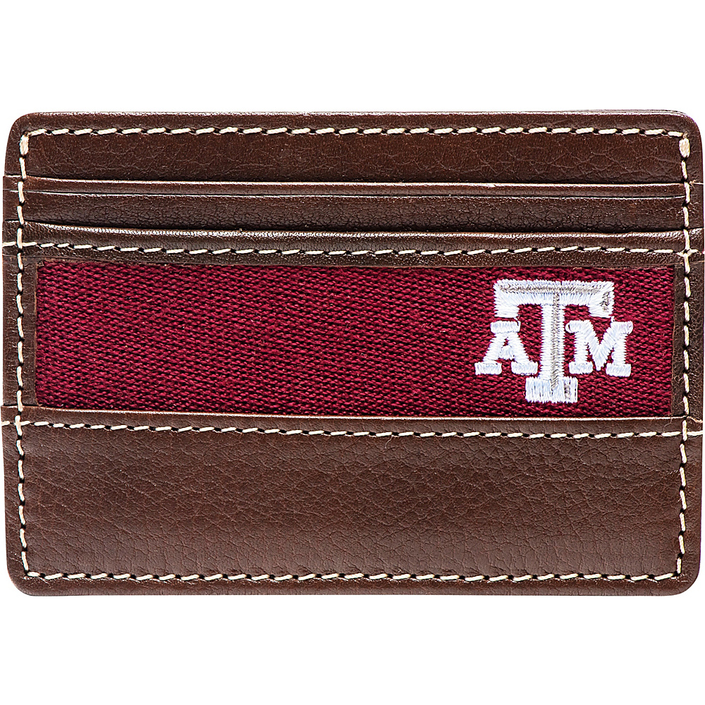 Jack Mason League NCAA Alumni ID Card Case Texas A&M - Jack Mason League Mens Wallets - Work Bags & Briefcases, Men's Wallets