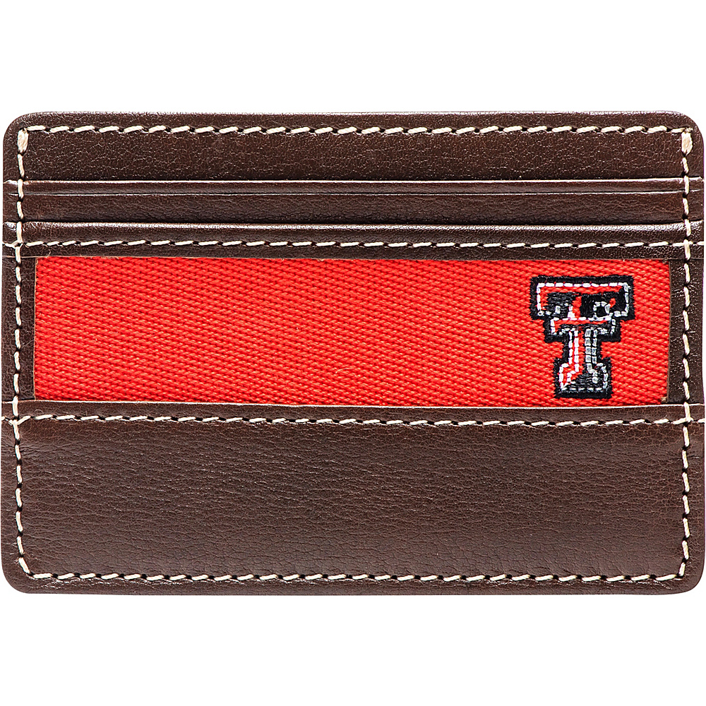 Jack Mason League NCAA Alumni ID Card Case Texas Tech - Jack Mason League Mens Wallets - Work Bags & Briefcases, Men's Wallets