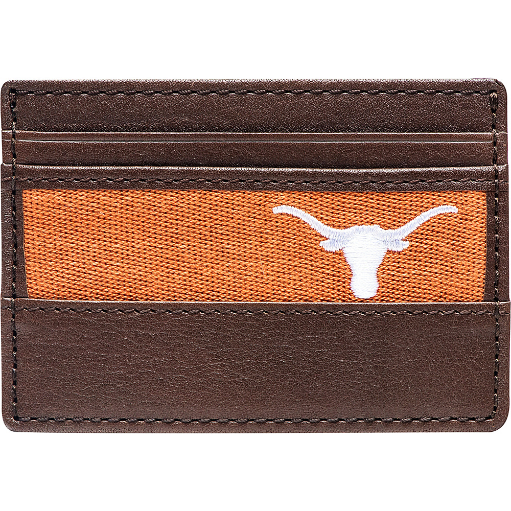 Jack Mason League NCAA Alumni ID Card Case Texas - Jack Mason League Mens Wallets - Work Bags & Briefcases, Men's Wallets