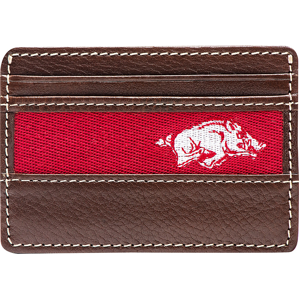 Jack Mason League NCAA Alumni ID Card Case Arkansas - Jack Mason League Mens Wallets - Work Bags & Briefcases, Men's Wallets