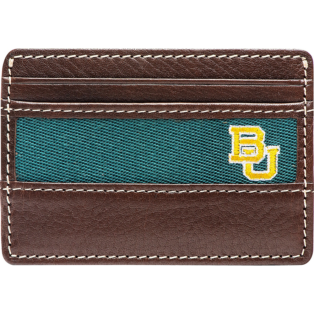 Jack Mason League NCAA Alumni ID Card Case Baylor - Jack Mason League Mens Wallets - Work Bags & Briefcases, Men's Wallets