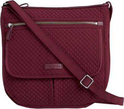 Vera Bradley Iconic Mailbag - Solids Hawthorn Rose - Vera Bradley Fabric Handbags