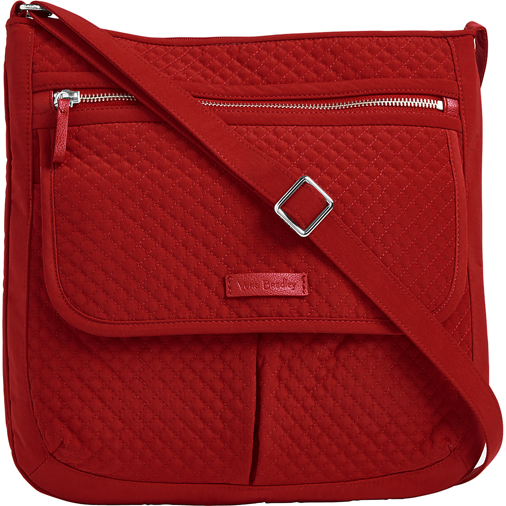 Vera Bradley Iconic Mailbag - Solids Cardinal Red - Vera Bradley Fabric Handbags - Handbags, Fabric Handbags