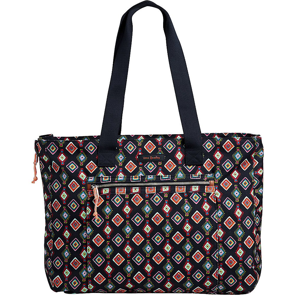 Vera Bradley Lighten Up Expandable Tote Mini Medallions - Vera Bradley Fabric Handbags - Handbags, Fabric Handbags