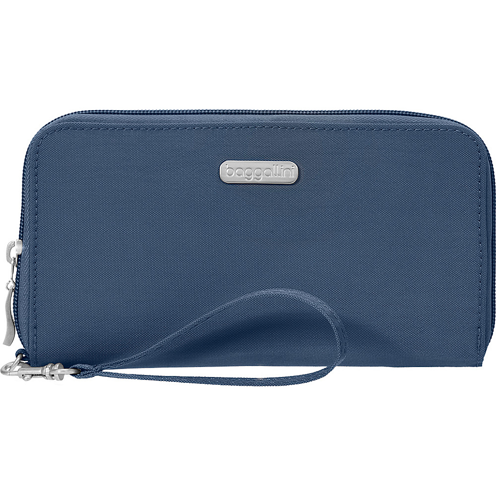 baggallini RFID Continental Wallet Pacific - baggallini Fabric Handbags - Handbags, Fabric Handbags