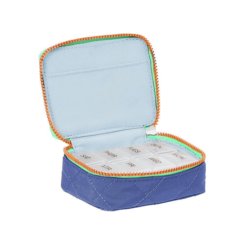 baggallini Travel Pill Case Royal Blue/Mint - baggallini Travel Comfort and Health - Travel Accessories, Travel Comfort and Health