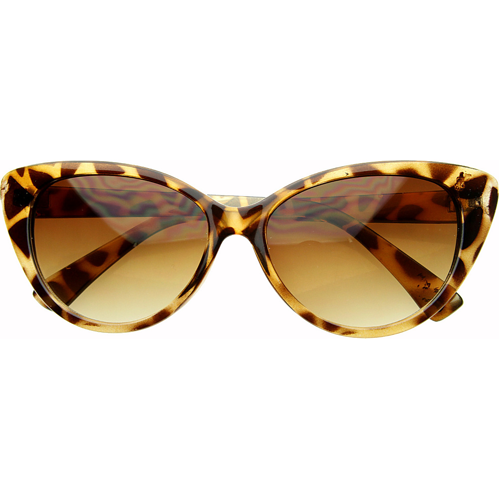 SW Global Emily Cateye Fashion Sunglasses Leopard - SW Global Eyewear - Fashion Accessories, Eyewear