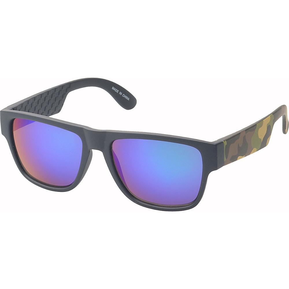 SW Global Bryson Square Fashion Sunglasses Green-Purple - SW Global Eyewear - Fashion Accessories, Eyewear