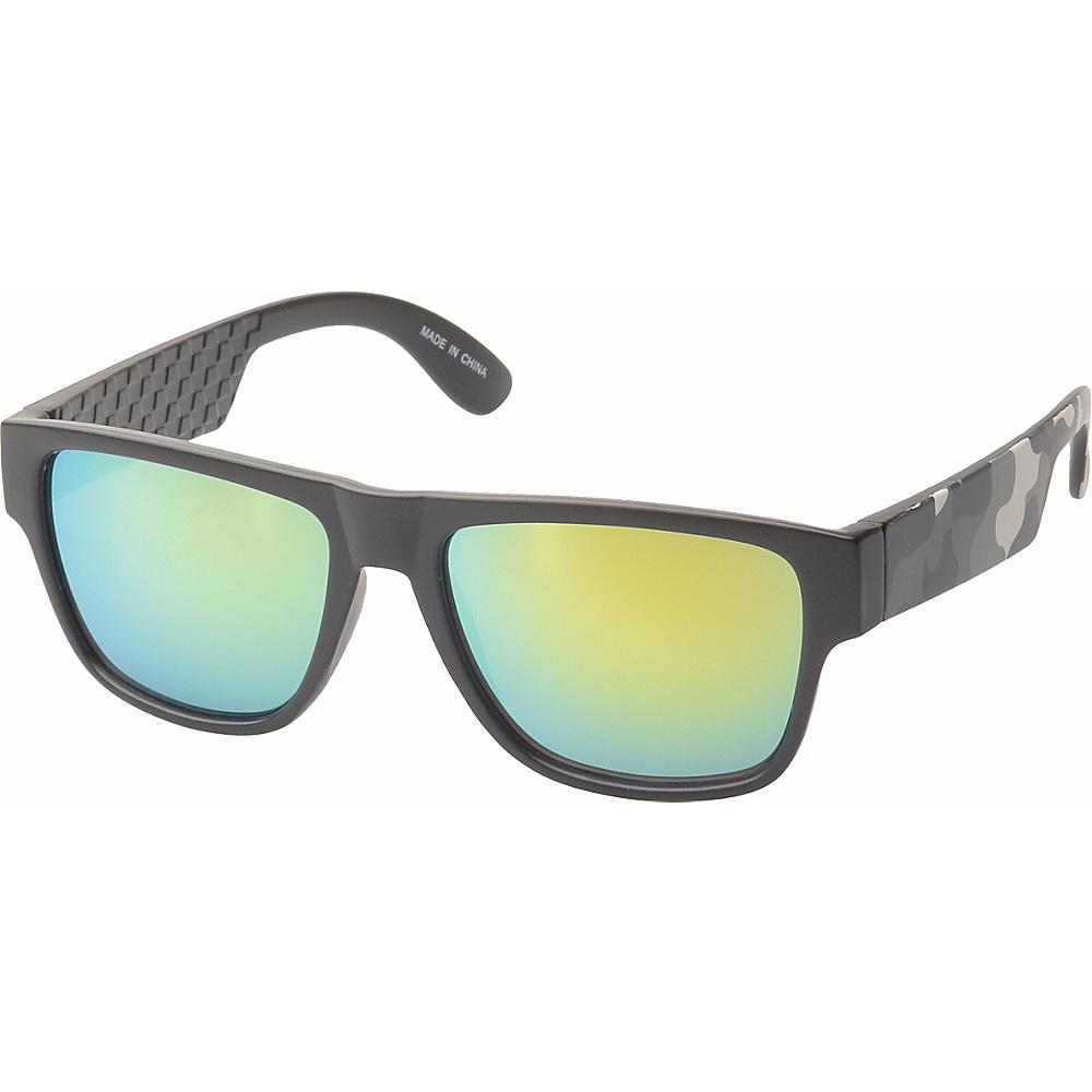 SW Global Bryson Square Fashion Sunglasses Grey-Green - SW Global Eyewear - Fashion Accessories, Eyewear
