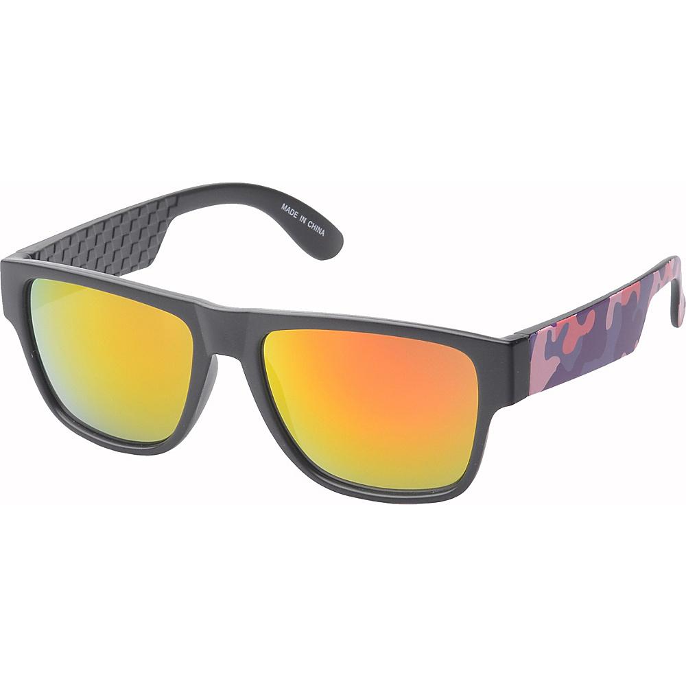 SW Global Bryson Square Fashion Sunglasses Pink-Orange - SW Global Eyewear - Fashion Accessories, Eyewear