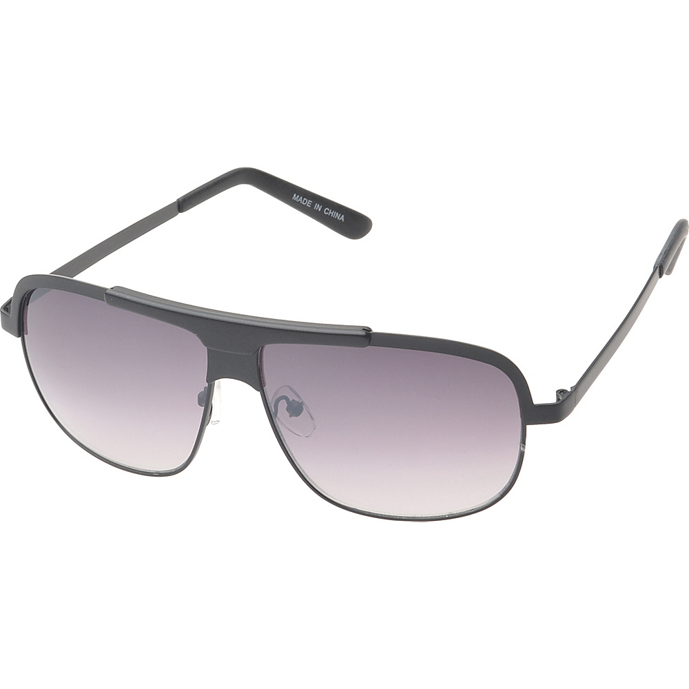 SW Global Centerville Rectangle Fashion Sunglasses Black - SW Global Eyewear - Fashion Accessories, Eyewear