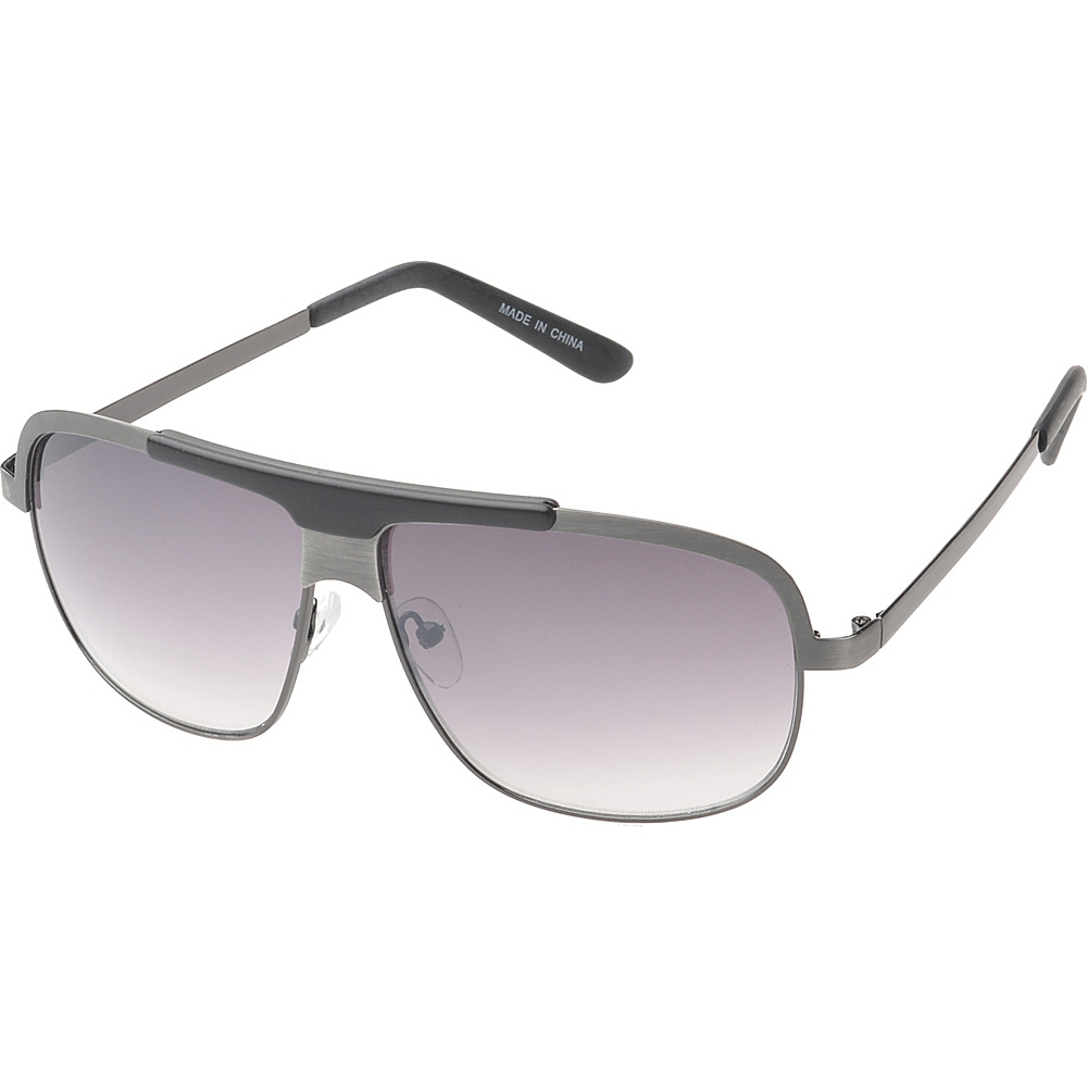 SW Global Centerville Rectangle Fashion Sunglasses Silver - SW Global Eyewear - Fashion Accessories, Eyewear