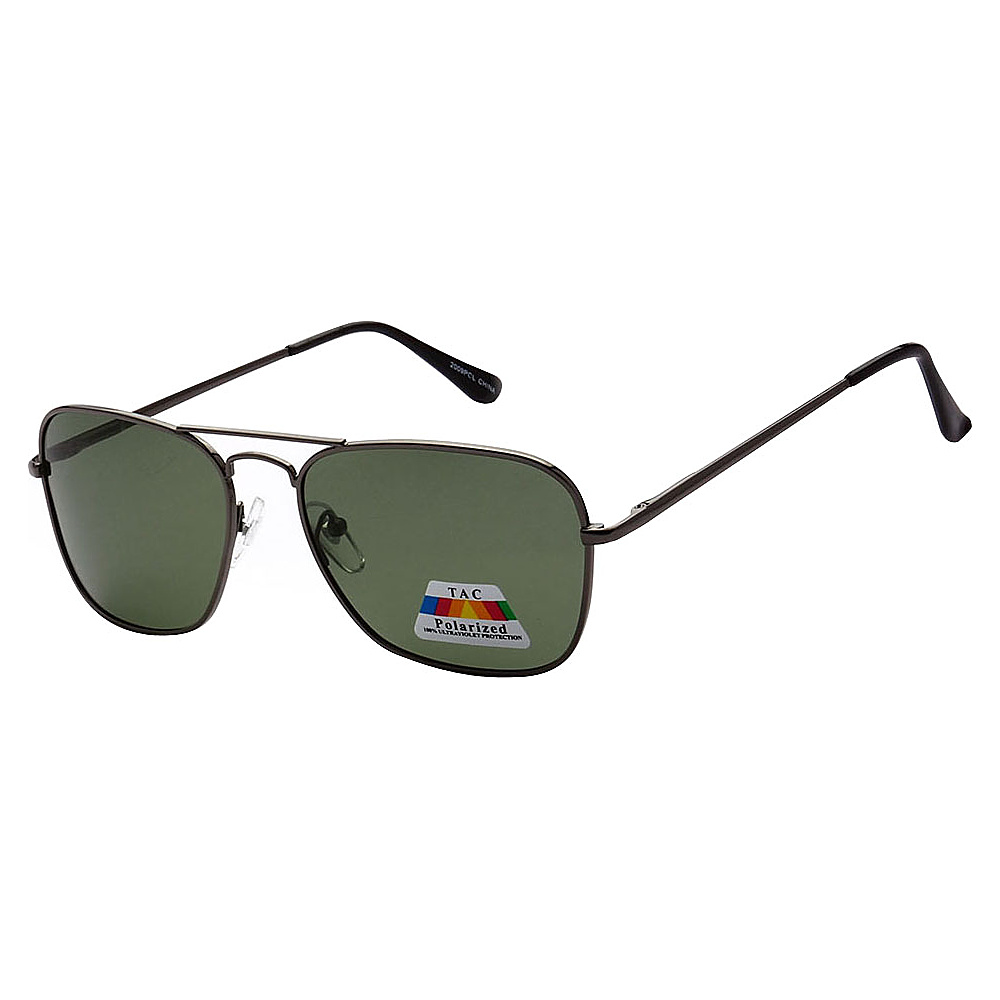 SW Global Polarized Ultra Light Weight Sport Aviator UV400 Sunglasses Black Green - SW Global Eyewear - Fashion Accessories, Eyewear