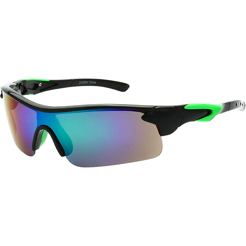 SW Global Active Sport Sunglasses Green - SW Global Eyewear - Fashion Accessories, Eyewear