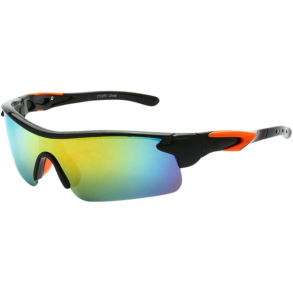 SW Global Active Sport Sunglasses Orange - SW Global Eyewear - Fashion Accessories, Eyewear