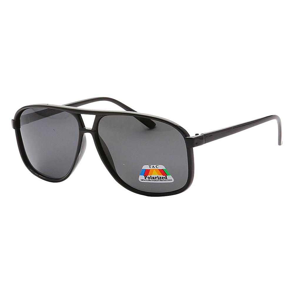 SW Global Polarized Tactical Aviator UV400 Sunglasses Black Black - SW Global Eyewear - Fashion Accessories, Eyewear