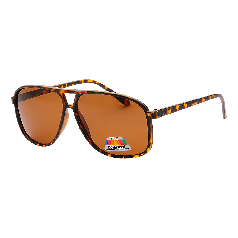 SW Global Polarized Tactical Aviator UV400 Sunglasses Leopard Brown - SW Global Eyewear - Fashion Accessories, Eyewear