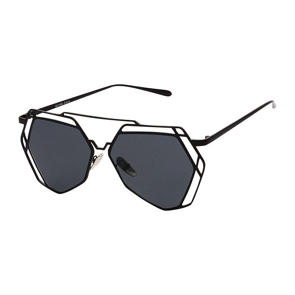 SW Global Designer Fashionable and Stylish UV400 Sunglasses Black Black - SW Global Eyewear - Fashion Accessories, Eyewear