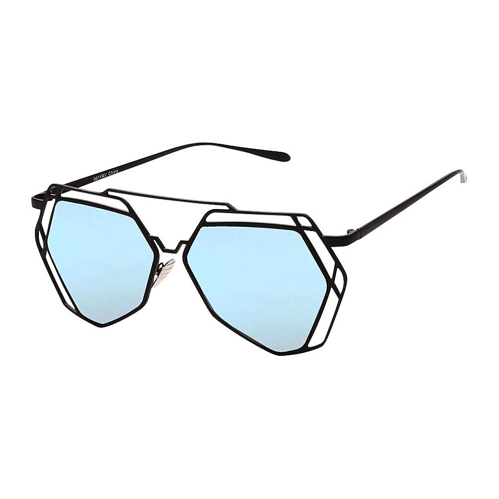 SW Global Designer Fashionable and Stylish UV400 Sunglasses Black Blue - SW Global Eyewear - Fashion Accessories, Eyewear
