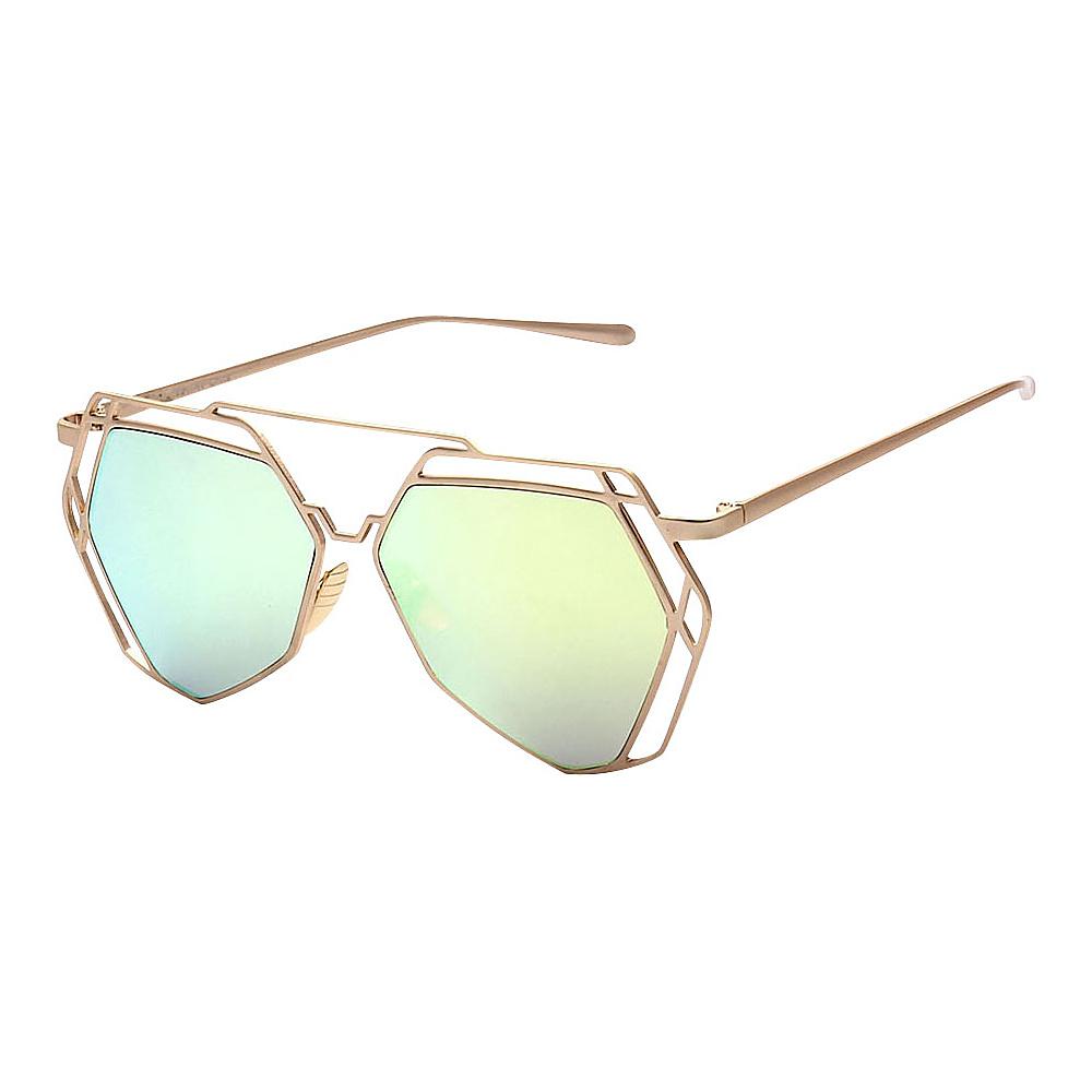 SW Global Designer Fashionable and Stylish UV400 Sunglasses Gold Blue Yellow - SW Global Eyewear - Fashion Accessories, Eyewear