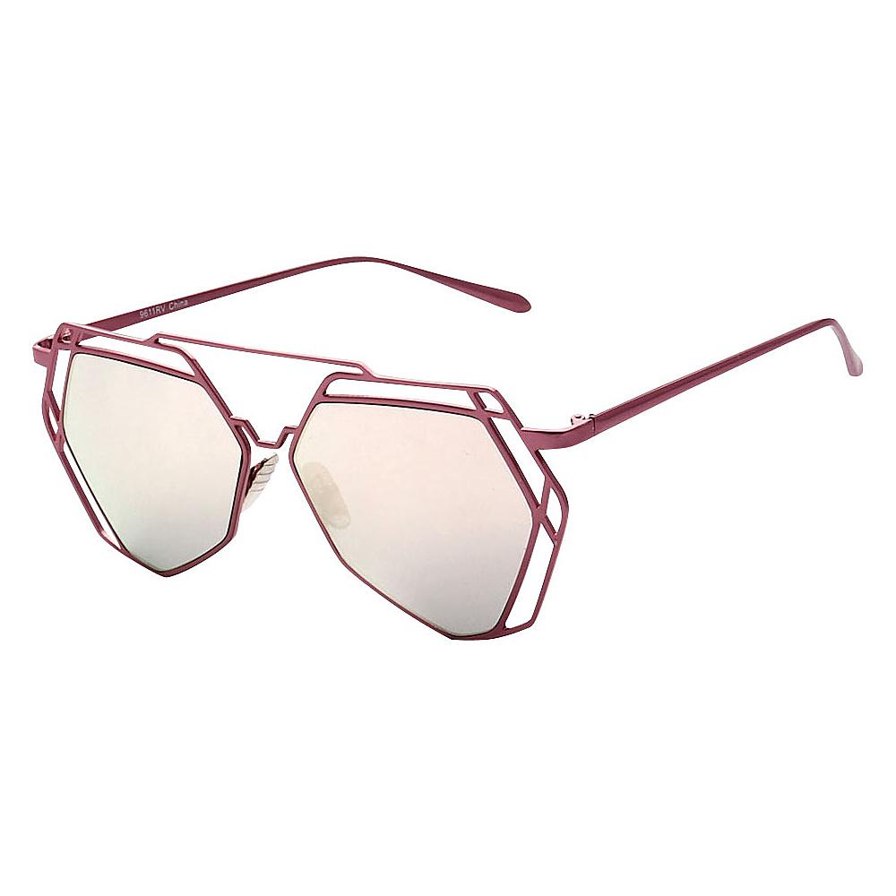 SW Global Designer Fashionable and Stylish UV400 Sunglasses Pink Light Pink - SW Global Eyewear - Fashion Accessories, Eyewear