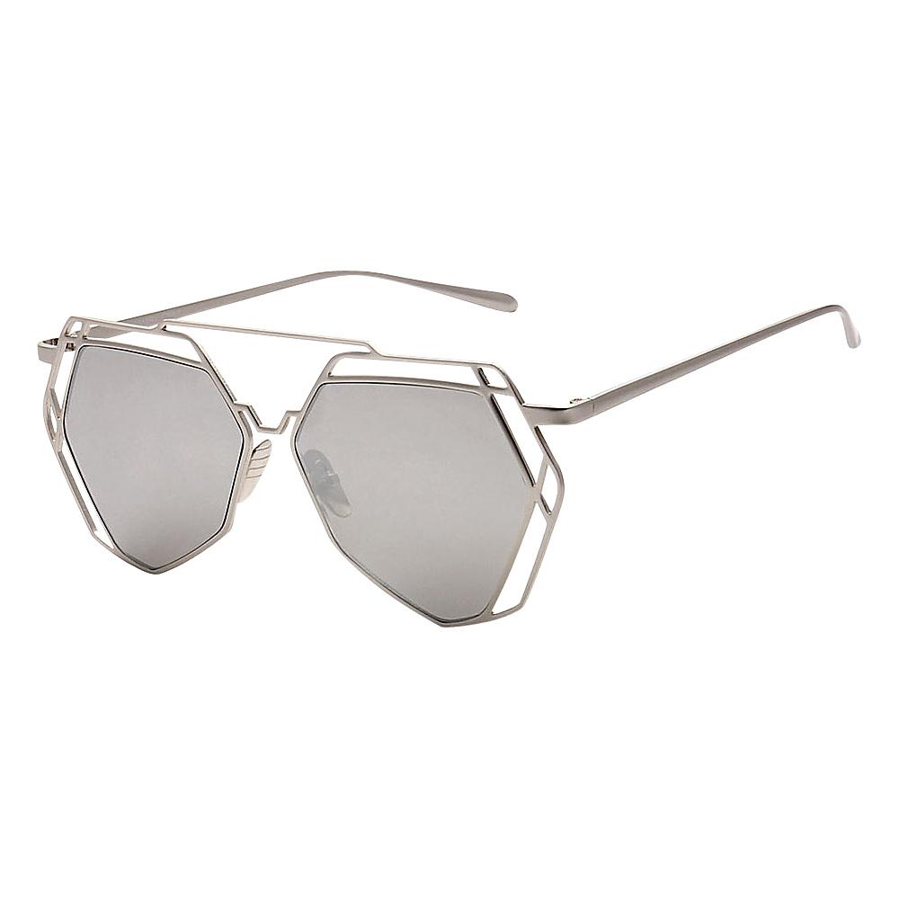SW Global Designer Fashionable and Stylish UV400 Sunglasses Silver Silver - SW Global Eyewear - Fashion Accessories, Eyewear