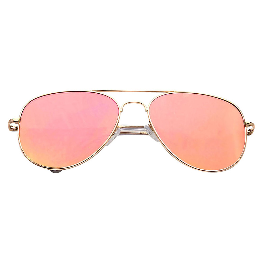 SW Global Ultra Light Weight Sport Aviator UV400 Sunglasses Silver Pink - SW Global Eyewear - Fashion Accessories, Eyewear