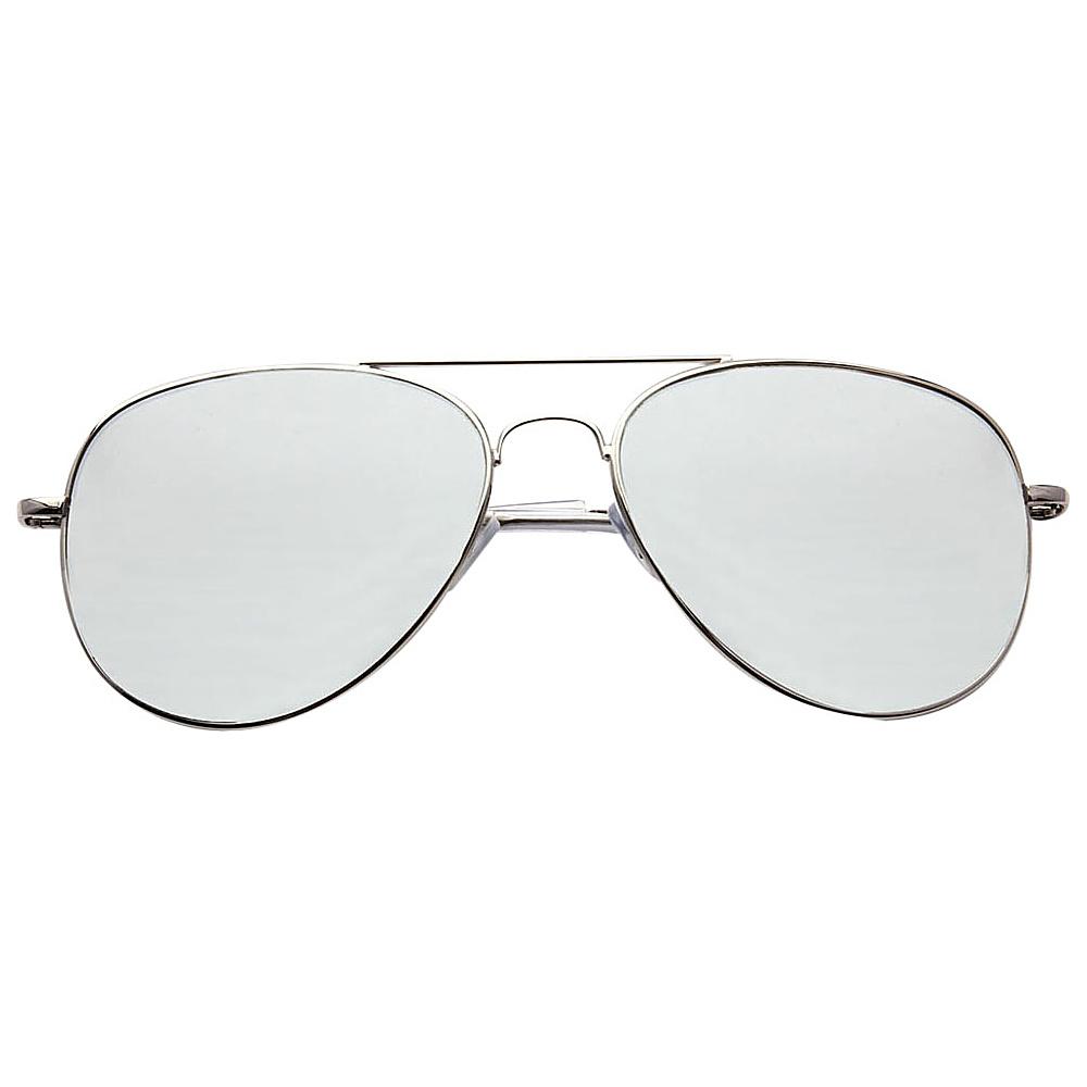 SW Global Ultra Light Weight Sport Aviator UV400 Sunglasses Silver Silver - SW Global Eyewear - Fashion Accessories, Eyewear