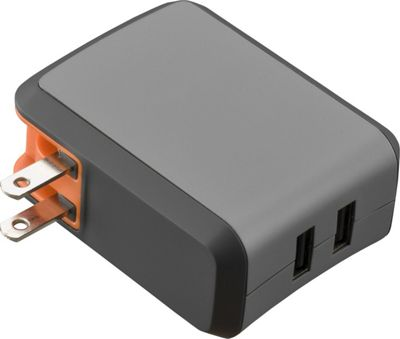 Ventev Wall Port R2240 Wall Charger Dual 2.4A Lightning Grey - Ventev Portable Batteries & Chargers