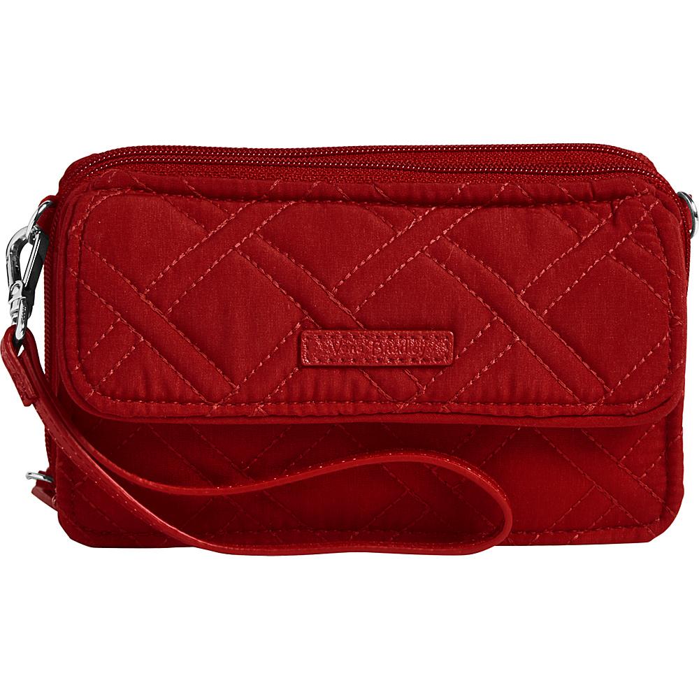 Vera Bradley RFID All in One Crossbody-Solids Cardinal Red - Vera Bradley Fabric Handbags - Handbags, Fabric Handbags