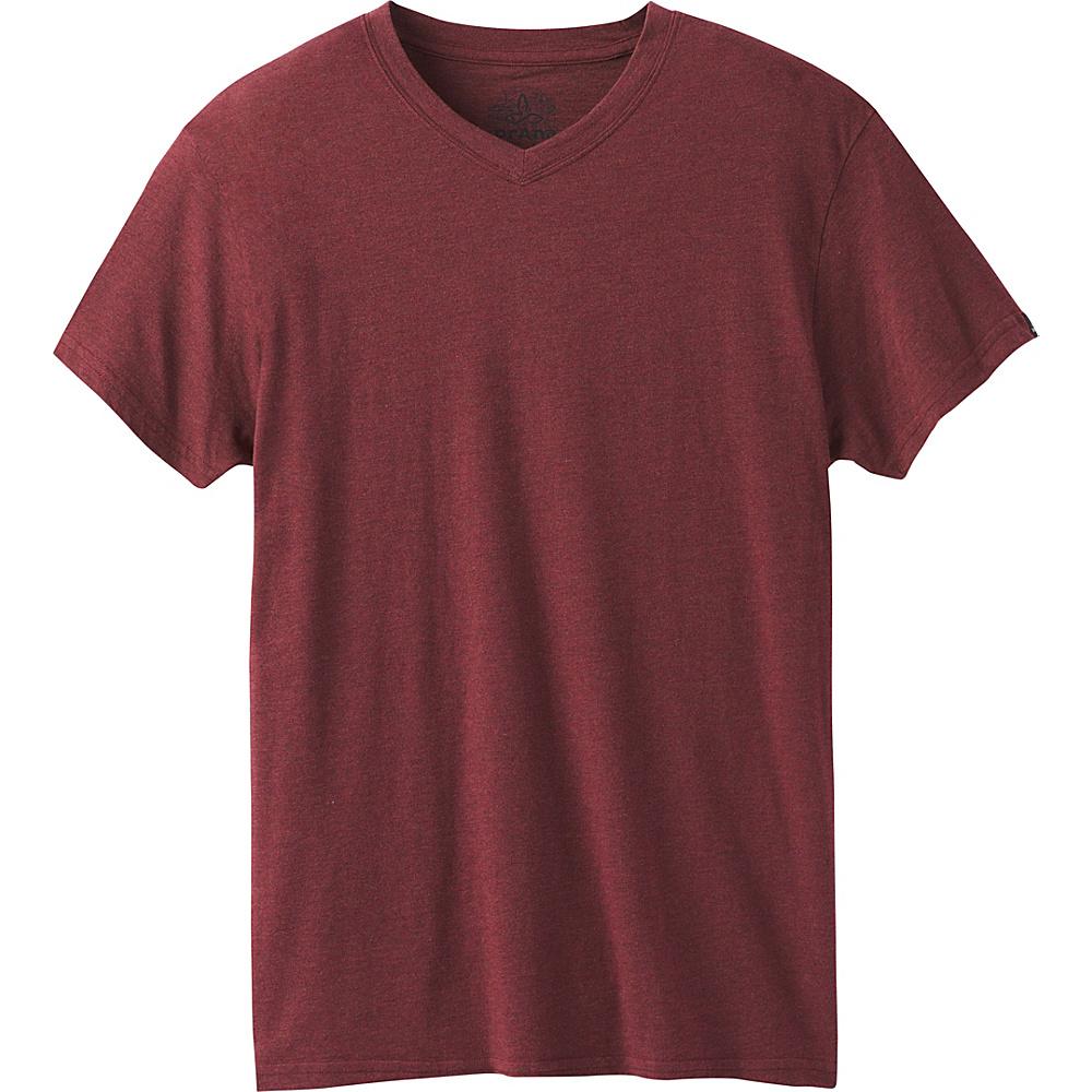 PrAna PrAna V-Neck T-Shirt M - Raisin - PrAna Mens Apparel - Apparel & Footwear, Men's Apparel