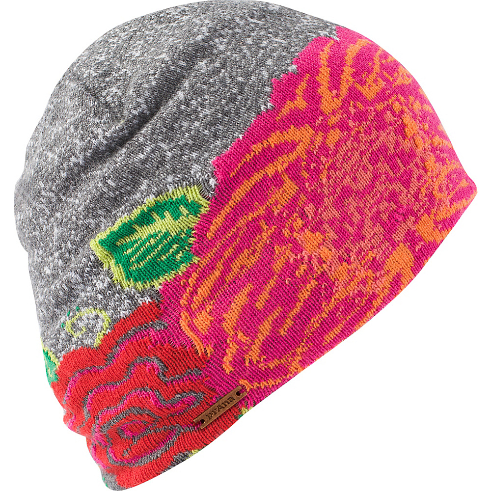 PrAna Ekki Beanie One Size - Red Maple Leaf - PrAna Hats - Fashion Accessories, Hats