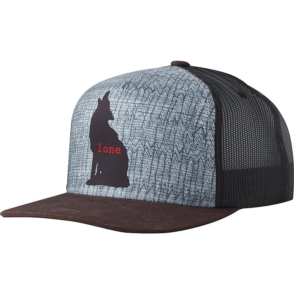 PrAna Journeyman Trucker Hat One Size - Lone Wolf - PrAna Hats - Fashion Accessories, Hats