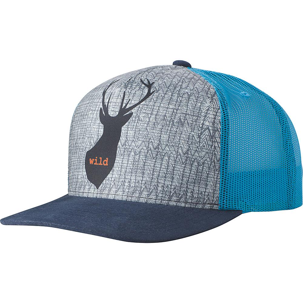 PrAna Journeyman Trucker Hat One Size - Dark Cobalt - PrAna Hats - Fashion Accessories, Hats