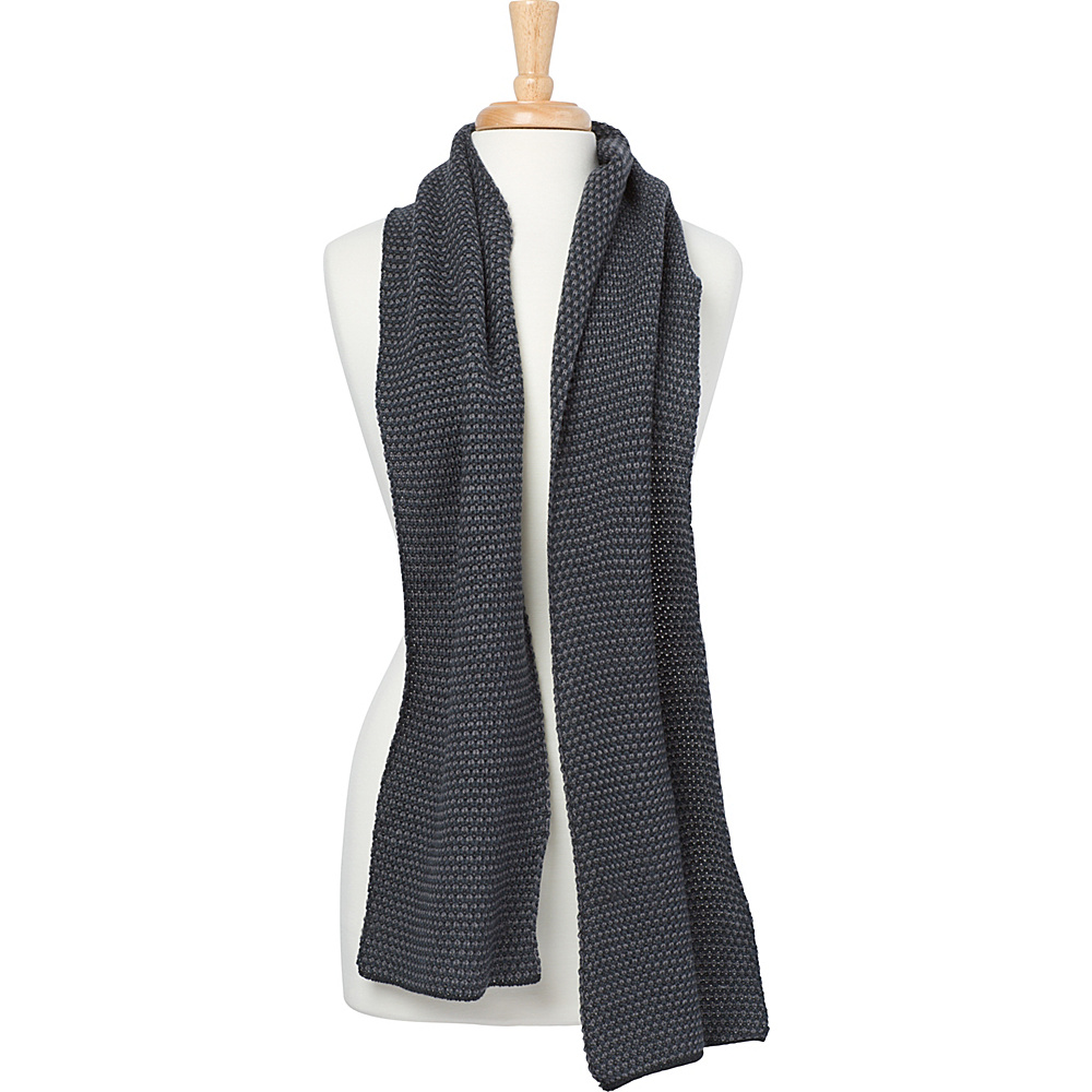 PrAna Zimmer Mens Scarf Charcoal - PrAna Scarves - Fashion Accessories, Scarves