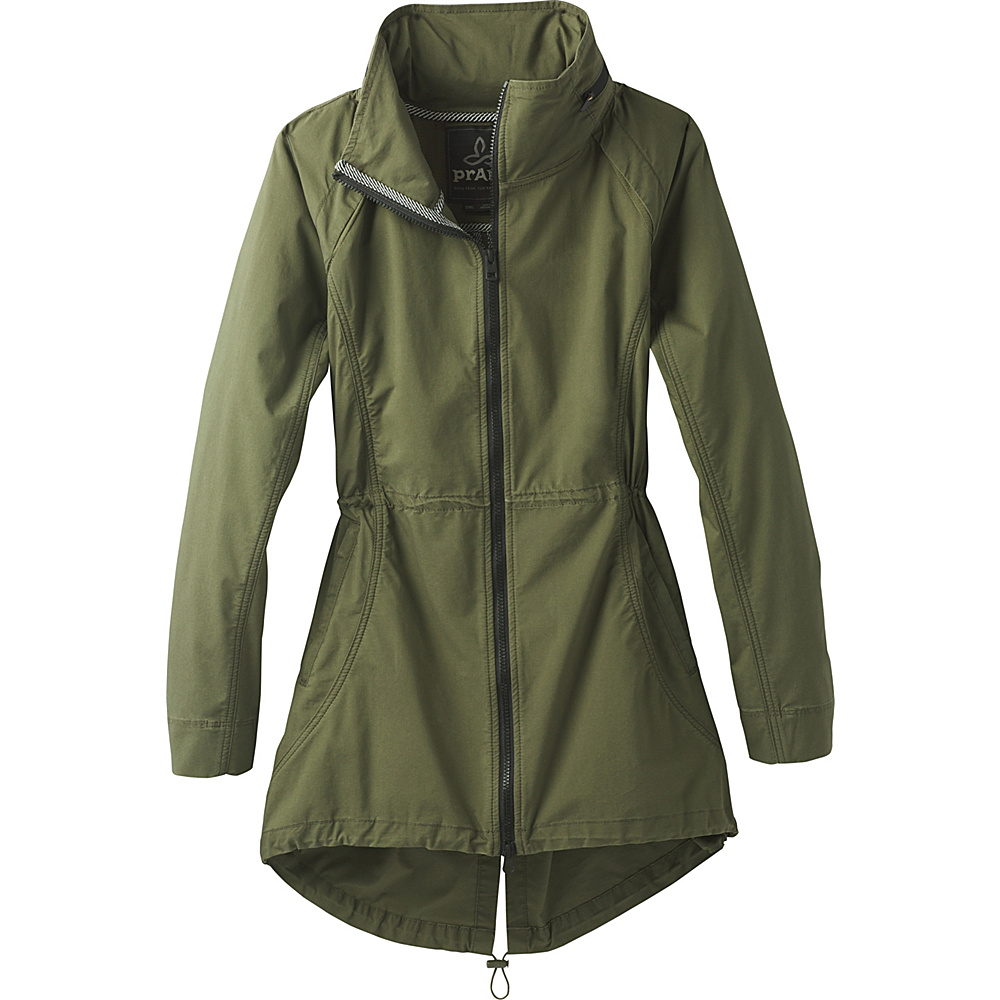 PrAna Horizon Anorak Jacket XS - Cargo Green - PrAna Womens Apparel - Apparel & Footwear, Women's Apparel