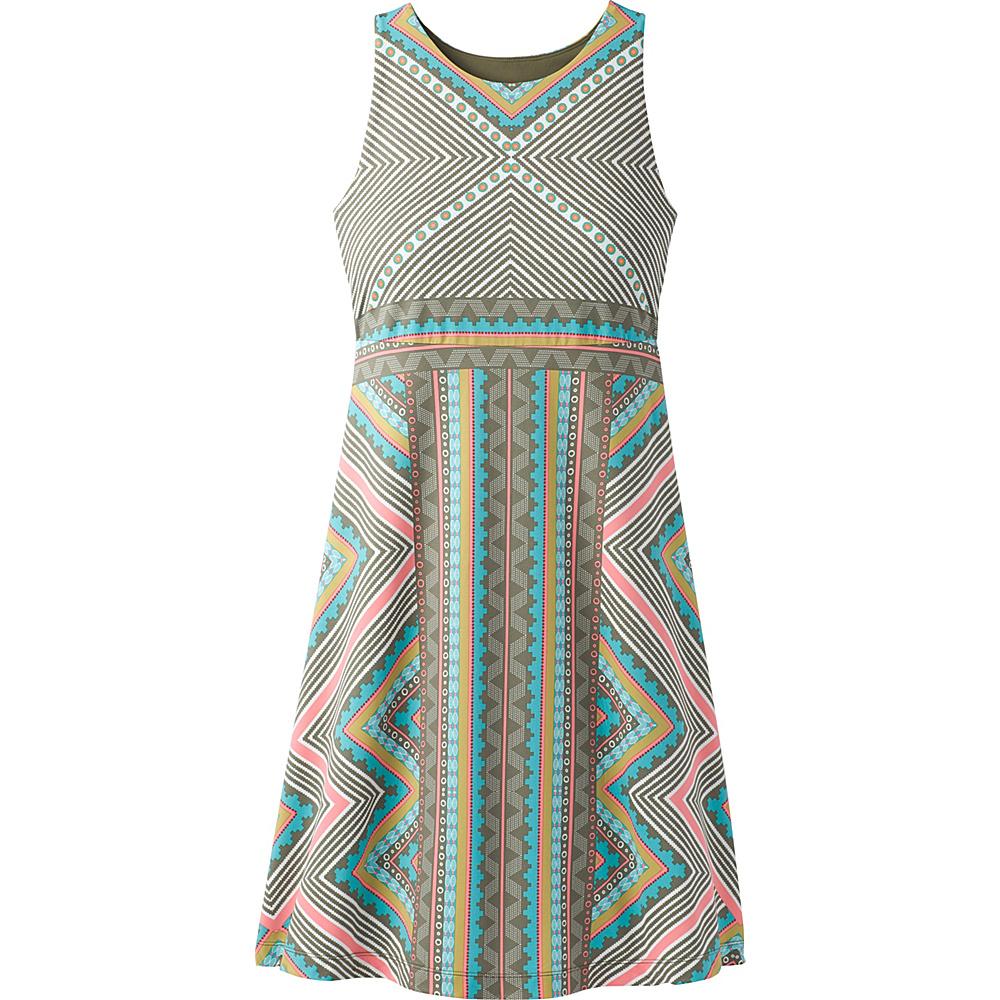 PrAna Ariel Dress M - Green Taos - PrAna Womens Apparel - Apparel & Footwear, Women's Apparel